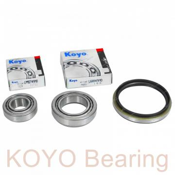 KOYO DC4910VW cylindrical roller bearings