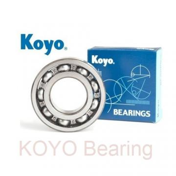 KOYO TR101004 tapered roller bearings