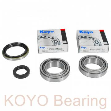KOYO 6314 deep groove ball bearings