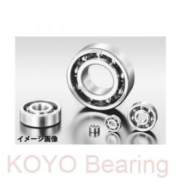 KOYO F637ZZ deep groove ball bearings